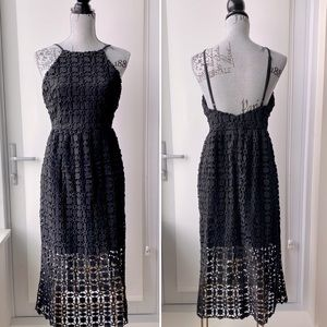 Romeo+Juliet Couture - Black Lace Overlay Dress
